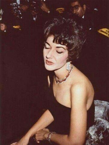 Maria Callas, La Divina. Mônaco, 1961.