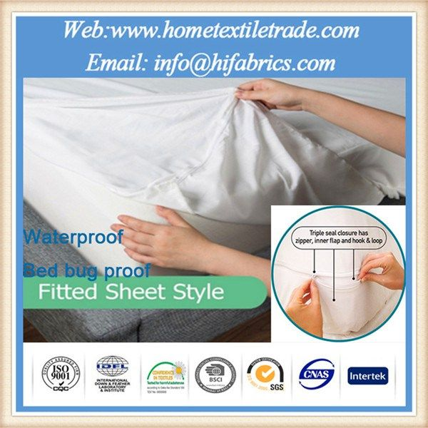 Best Lab Tested Premium Stretch-to-Fit Cotton Terry Cover 100% Waterproof Mattress Protector in Batu Pahat