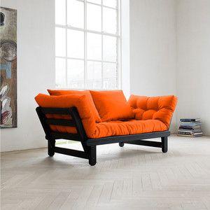Beat Sofa Wenge Frame Orange, 299€, now featured on Fab.