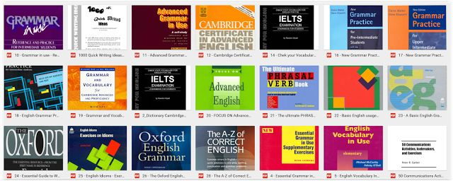 E-Books for Learners & Teachers of English: English GRAMMAR