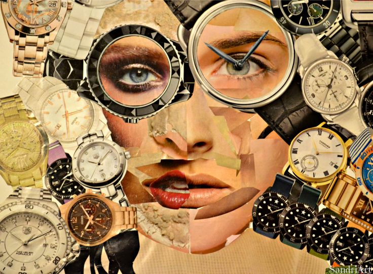 Girl of the watches by ~SandriArt on deviantART