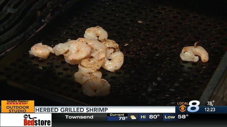 Summer Herbed Grilled Shrimp Friday, April 21, 2017