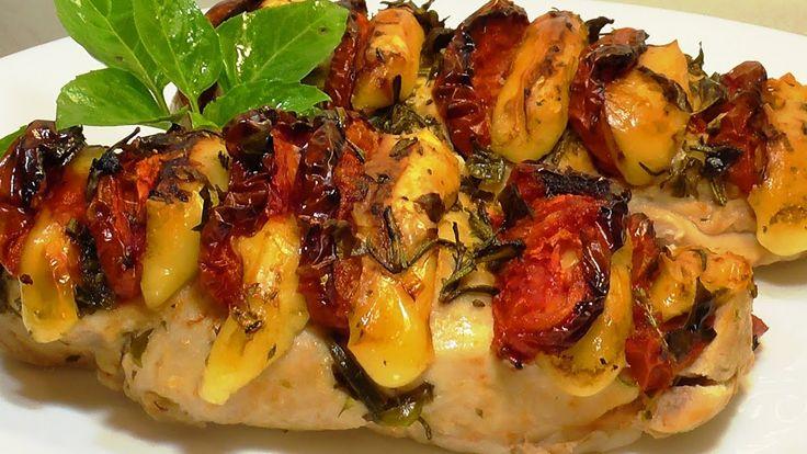 #КУРИНАЯ_ГРУДКА_В_ДУХОВКЕ #Chicken_breast in oven