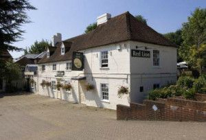 The Red Lion pub in Horndean Hampshire