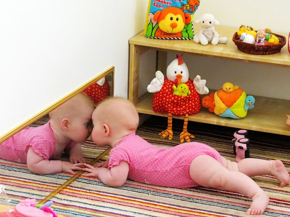 Baby play space ideas. Maybe for the basement play room?