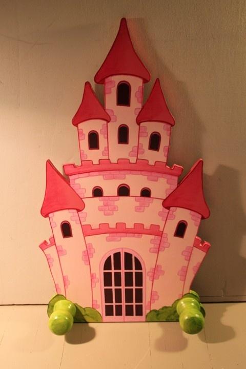 Porte-manteau château de princesse