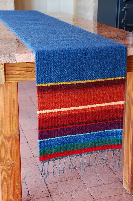 Your Daily Dose of Inspiration! Table Runner #5, handwoven by Fred Black.