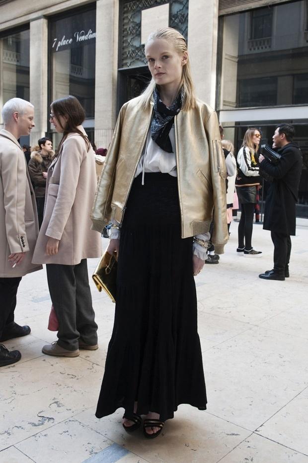 parisian Street Style Fashion Week