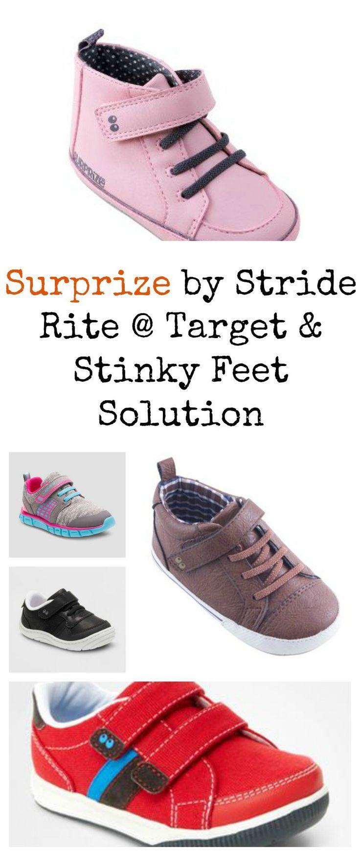 Target + Stinky Feet Solution