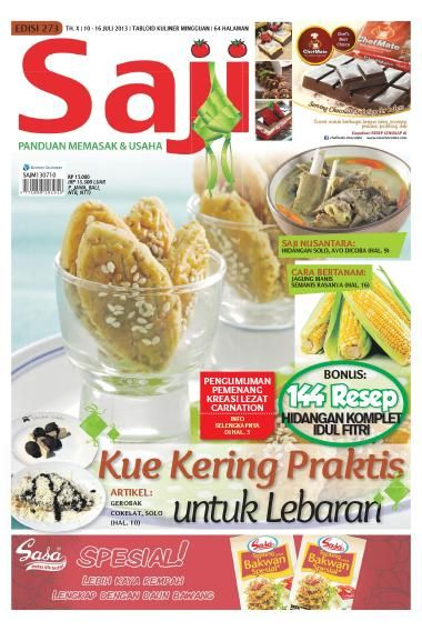 Saji / ED 273 2013. Beli SAJI edisi ini dalam format e-magazine >>http://www.getscoop.com/majalah/saji-ed-273-2013