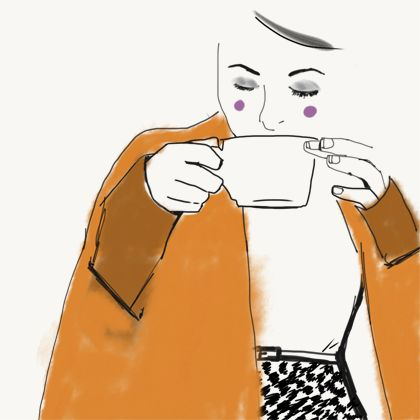 Our Work | Ballarat Web Design Nothing like a cute orange cape for winter and a warm cup of tea.