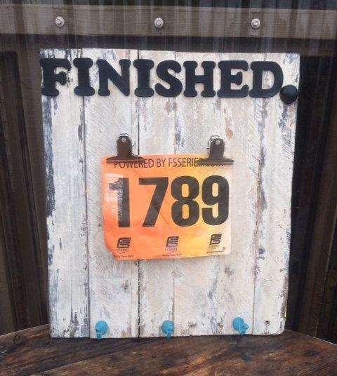 Racing Bib Holder, Rustic Race Bib Holder, Race Plaque,Race Bib Holder,Race Medal Display(Free Shipping) by RusticShedHeads on Etsy