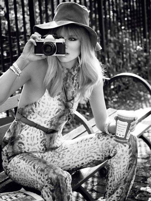Natasha Poly by Terry Richardson for Vogue Paris, February 2013