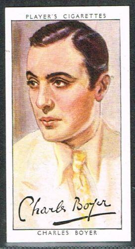 Players Film Stars 3rd Series 1938  Charles Boyer
