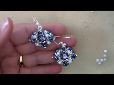 Tutorial orechini Pashà - YouTube