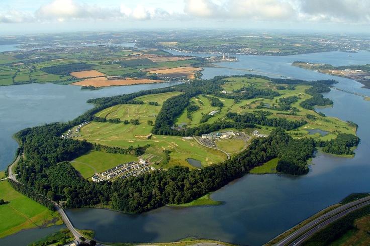 Fota Island located in the heart of Cork Harbour home to Fota Island Resort, Fota House and Fota Wildlife Park. #destinations #Ireland #Cork