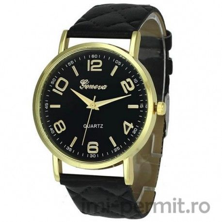 Un ceas Geneva pentru doamne, discret si elegant