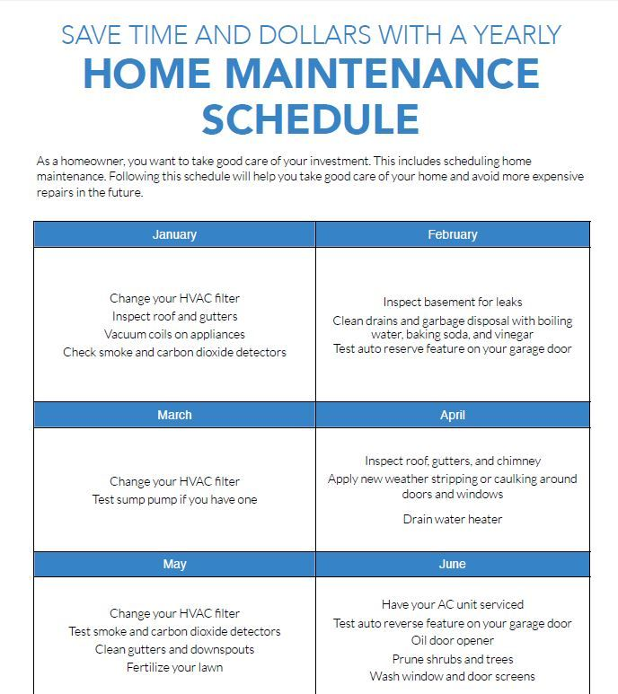 Best 25+ Home maintenance schedule ideas only on Pinterest ...