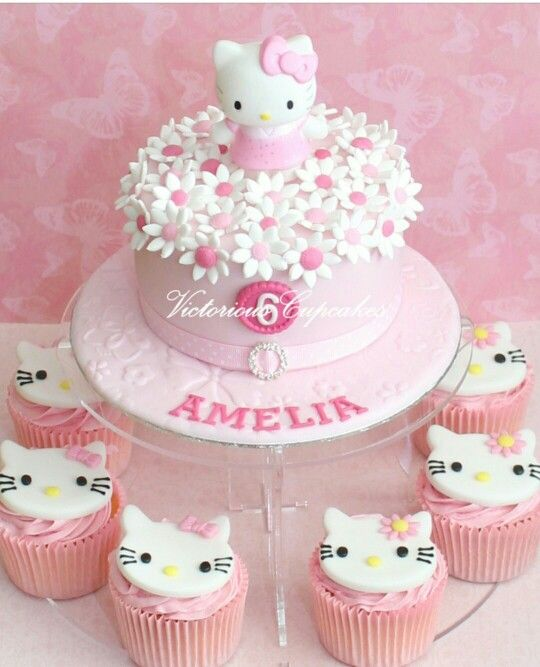 23 best Hello Kitty cakes images on Pinterest Hello kitty cake
