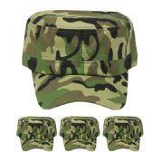 72 units of Camouflage Baseball #Cap