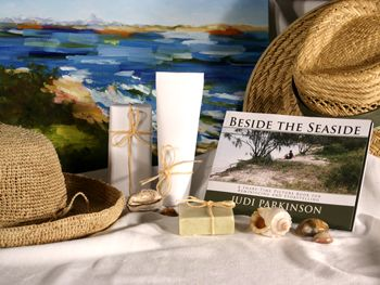 Give a Picture Book - BESIDE THE SEASIDE - Support the lasting gift of a movie or book by adding these sensory gifts to support engagement and reminiscence for a person in care. Judi Parkinson Activities  http://sharetimepictures.com.au/GIFTS.php
