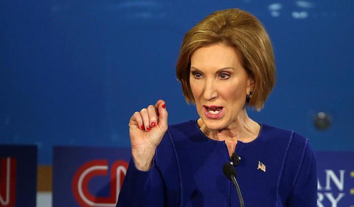 Fiorina Drops Massive Truth Bomb Just After FBI Releases Hillary/Killary…