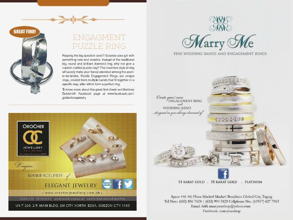 PLANNING FOR A LUXE FOR LESS WEDDING? Marry Me, offers a discount on their engagement ring. Find them at the revised edition of WEDDING DIGEST LUXE FOR LESS. You can Browse for Download the magazine for FREE at www.weddingdigets.com.ph  #WeddingDigestPh #emagazine #LuxeforLess #weddings #iloveweddings #ring #engagementring #weddingring