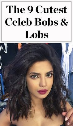 Celebrities love the lob (and bob)! Click ahead to see our favorite short to mid-length hairstyles, including Priyanka Chopra, Khloe Kardashian, Taylor Swift and more
