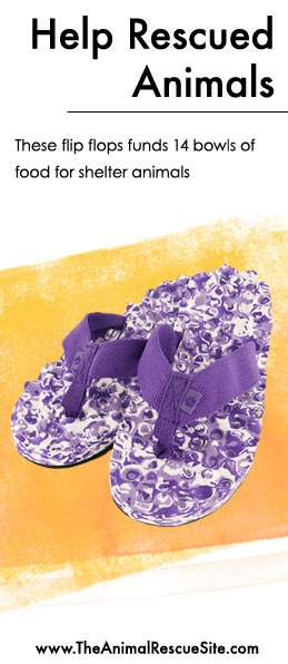Every purchase at The Animal Rescue Site funds meals for Shelter Animals in need.   Shopping + Helping Animals = Pawsome! Find flip flops  here: www.shop2give.us/PurplePaws: Animal Rescue Ideas, Animals Pets, Helps Animals, Donate Yarn Mades, Dancing Shoes, Flip, Shelter Animals, Purple Shoes Boots