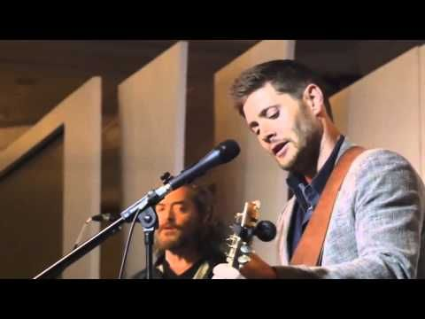 No lie almost started crying.. it's so beautiful <3| Jensen Ackles Singing Asylum 2014 - YouTube