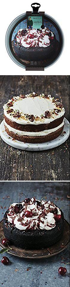 Springform Cake Tin. JAMIE OLIVER Round Springform Cake Tin, 9 Inches, Nonstick.  #springform #cake #tin #springformcake #caketin