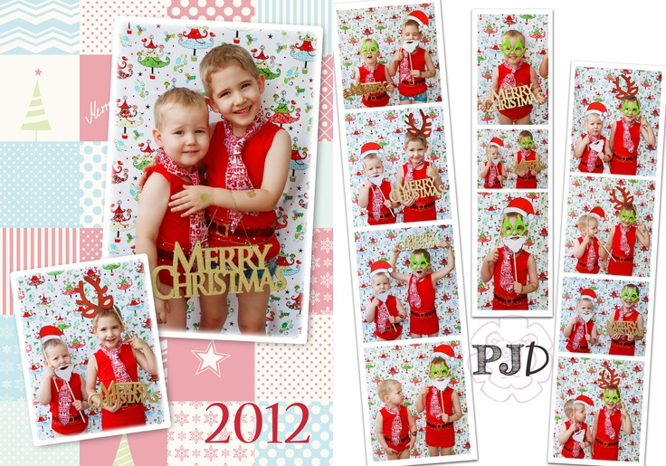 Christmas Card © Purple Jungle Designs 2012