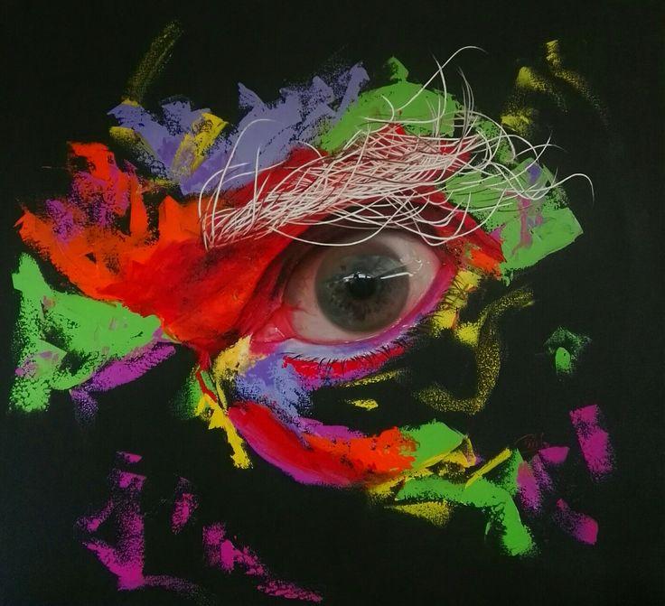 Oleo sobre lienzo 120x110 cm by Patricia Vesga PAVES