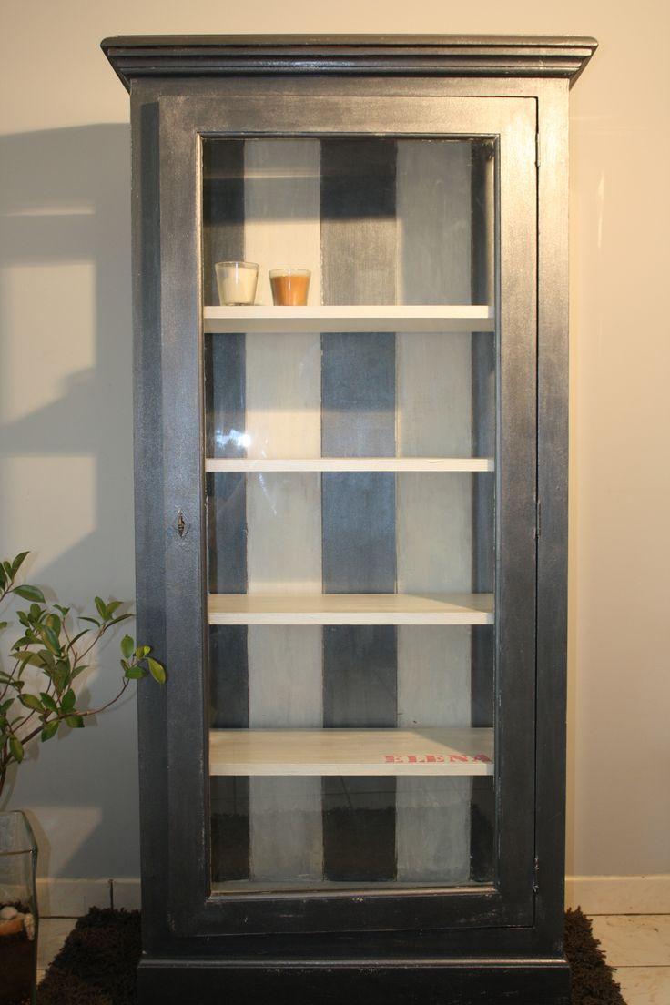 Customisation meuble vitrine Instructions de bricolage...