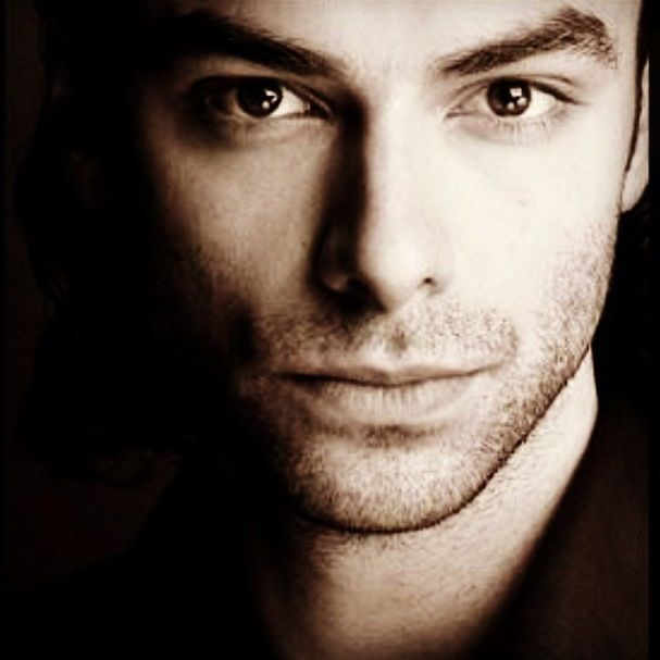 Just too gorgeous not to share again.  Ladies, Mr. Aidan Turner. (Ms. Sarah Greene says his eyes are hazel.)