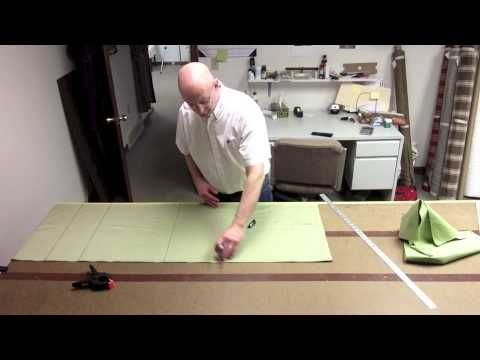 How To Make A Tailored Valance (Part Two) - YouTube