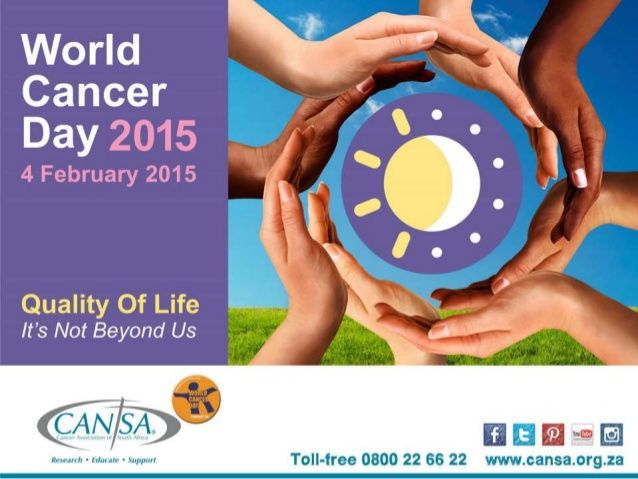 CANSA World Cancer Day - Not Beyond Us by CANSA The Cancer Association of South Africa via slideshare