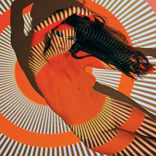 Trippy Pin-Up by Neil Krug.