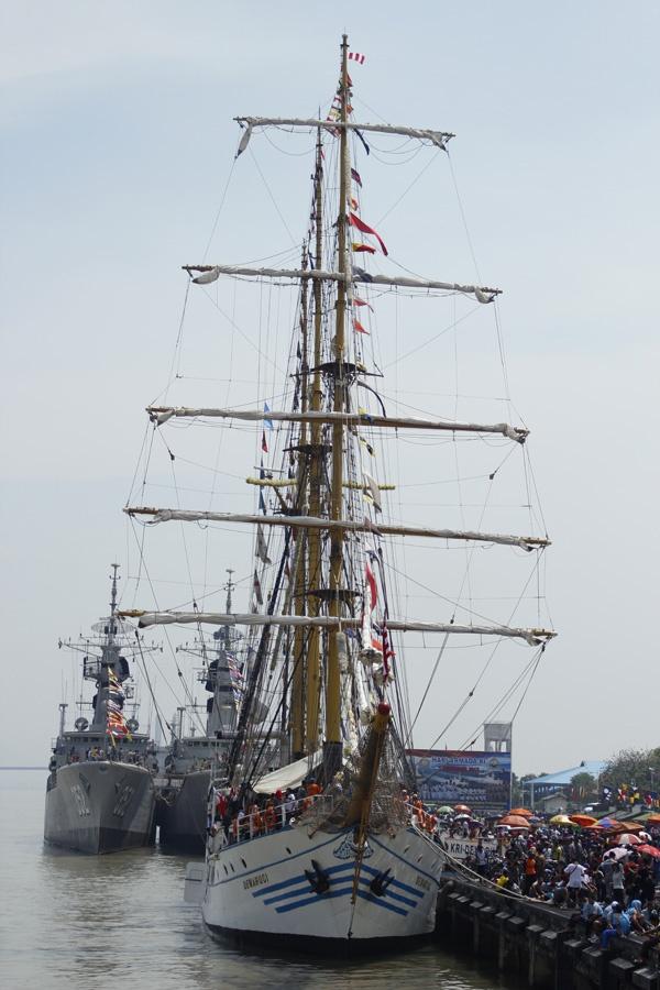 Dewaruci, Indonesia training ship.