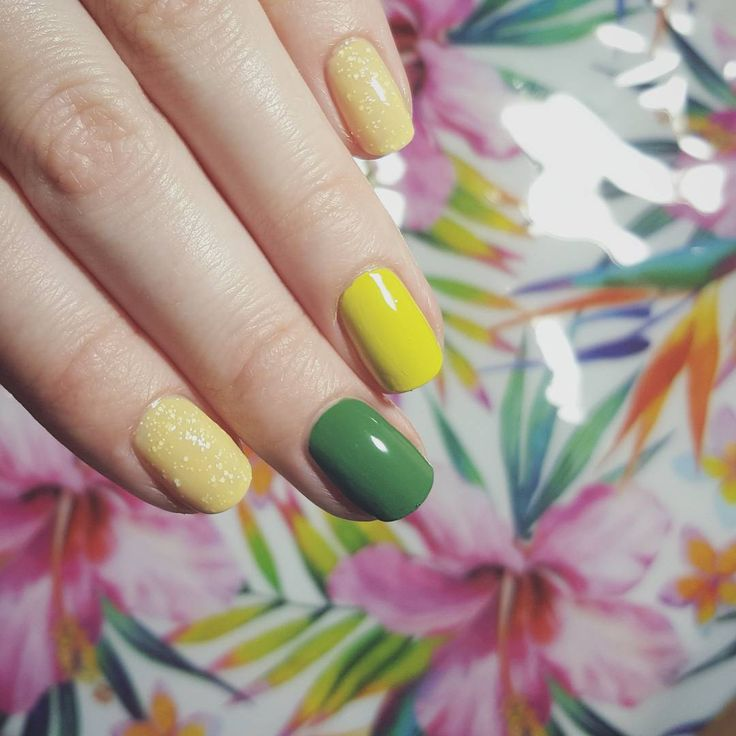 #nails colours of #summer