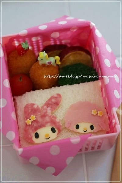 my melody and piano bento ♥ Bento