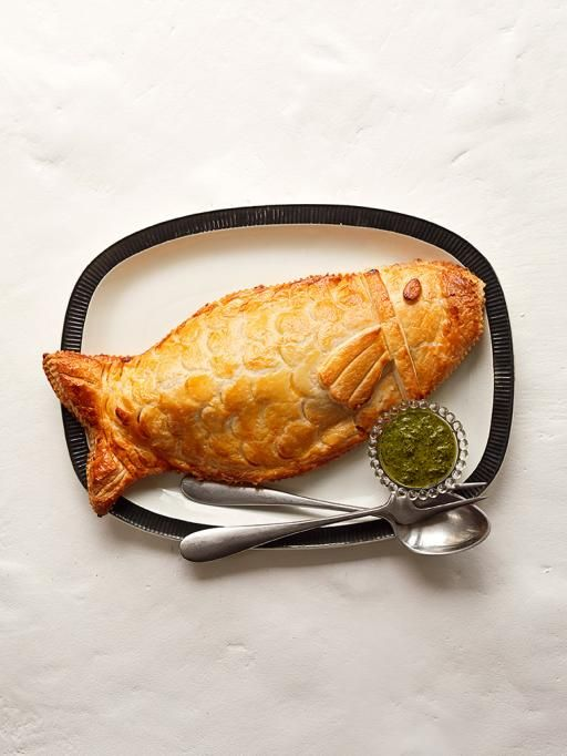 Sea bass in puff pastry | Jamie Oliver | Food | Jamie Oliver (UK)