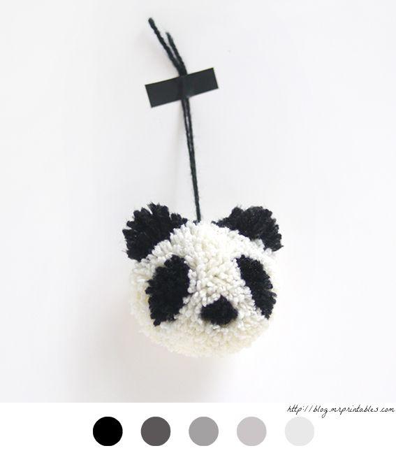 Pompon Panda