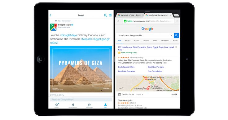 Chrome se actualiza con las nuevas funciones de iOS 9 para iPad - http://www.actualidadiphone.com/chrome-se-actualiza-con-las-nuevas-funciones-de-ios-9-para-ipad/
