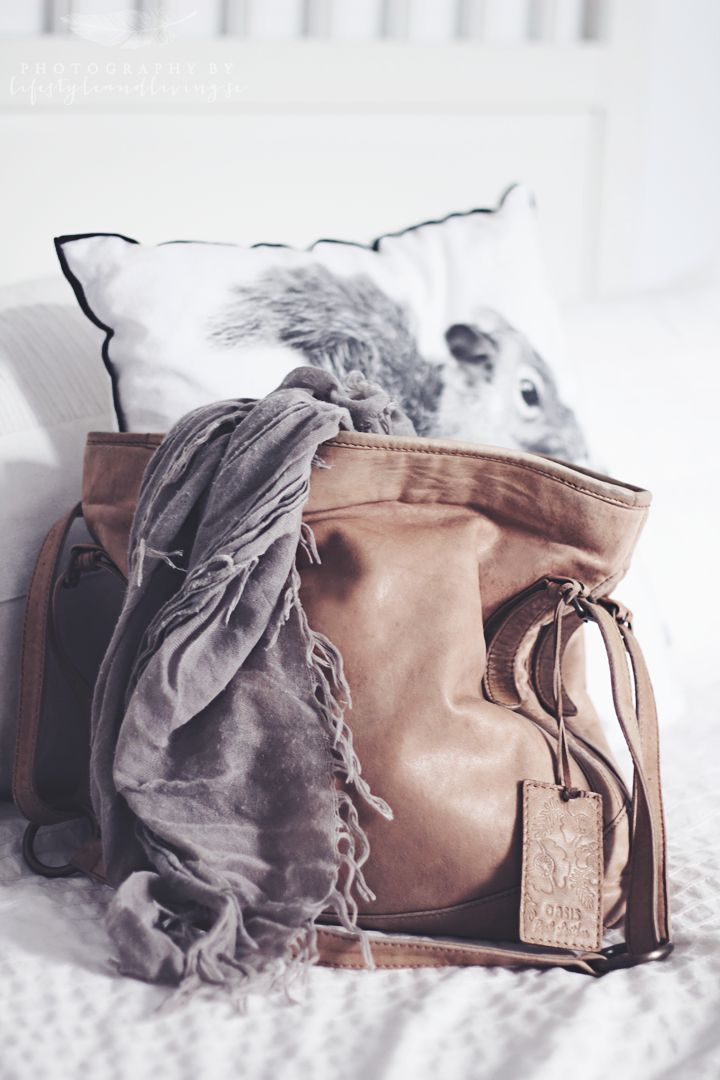 Oasis leather bag.