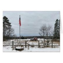 10 best michigan home images on pinterest michigan upper michigan winter landscape blank greeting card m4hsunfo Images