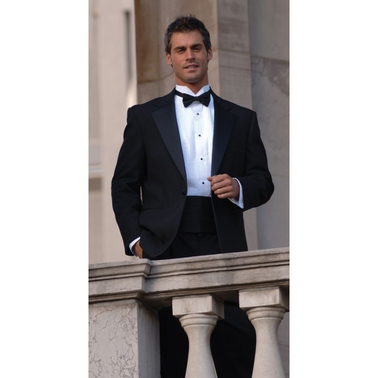 Basic Tuxedo Package - Includes Tux, Shirt & All Accessories!