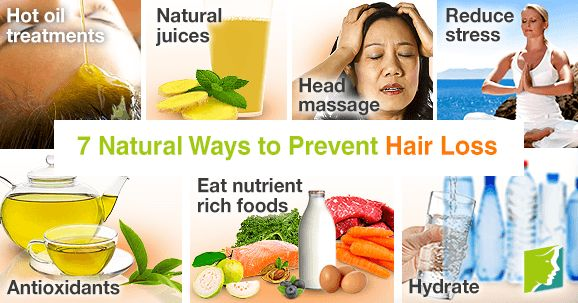 Natural hair loss prevention can be simple and relatively inexpensive to do at home. Here are a few of the natural ways to prevent hair loss.