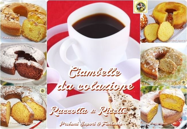 Ciambelle da colazione raccolta di ricette   Blog Profumi Sapori & Fantasia