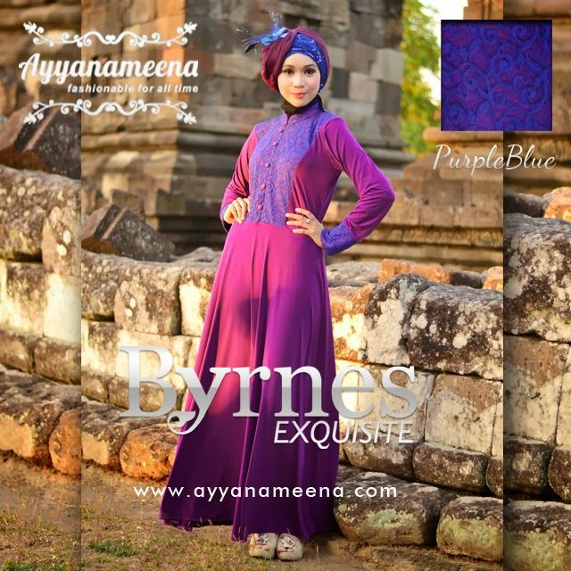 New Dress BYRNES Exquisite Purple IDR 260,000 @Ayyanameena .com